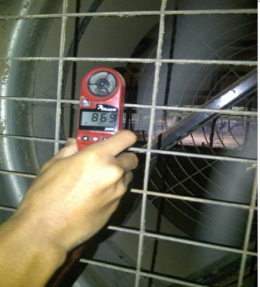 pengukuran fan close house
