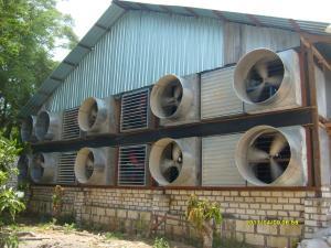 fan blower close house